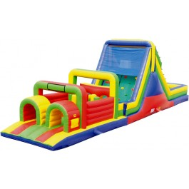 (B) 52ft Dry Obstacle Course w/16ft slide