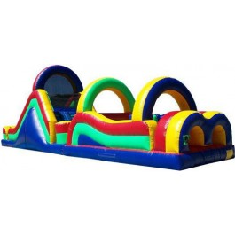 (B) 55ft Dry Obstacle Course w/14ft slide