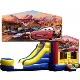 (C) Cars Bounce Slide combo (Wet or Dry)
