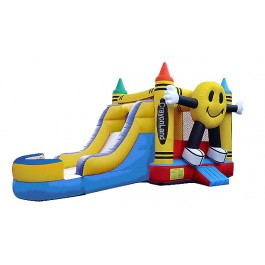 (B) Happy Face Bounce Slide combo (Wet or Dry)