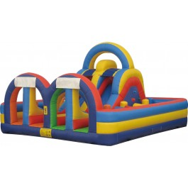 (B) Kids Playground Dry Obstacle Course