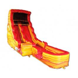 (B) 20ft Lava Dry Slide Rental