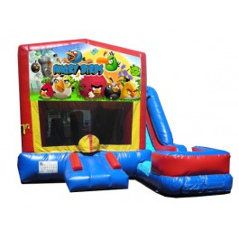 (C) Angry Birds 7n1 Bounce Slide combo (Wet or Dry)