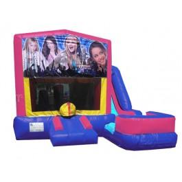 (C) Hannah Montana 7n1 Bounce Slide combo (Wet or Dry)