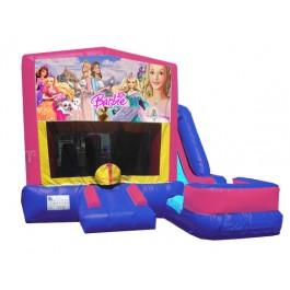 (C) Barbie 7n1 Bounce Slide combo (Wet or Dry)