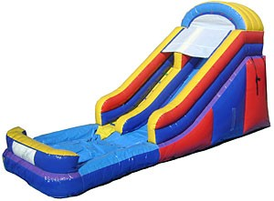 (A) 16ft Water Slide Rental