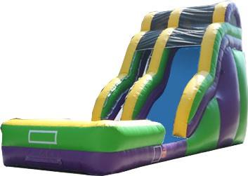(D) 24ft Wave Wild Rapids Wet/Dry Slide