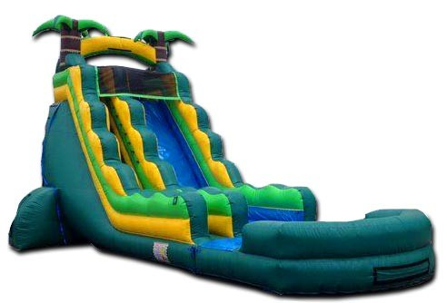 (B) 22ft Tsunami Water Slide
