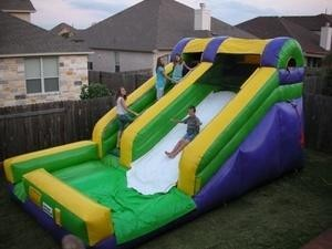 (B) 14ft Modular Water Slide