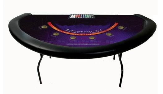black jack casino rentals