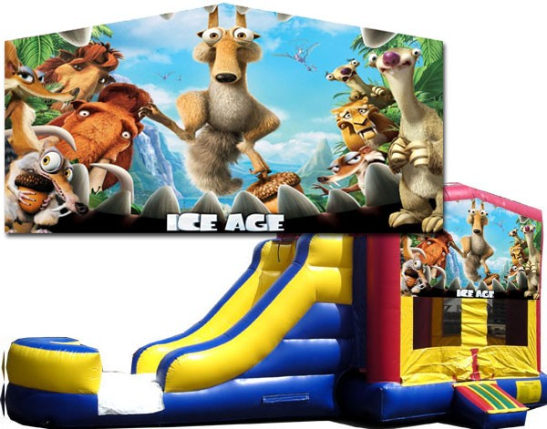 (C) Ice Age 2 Lane combo (Wet or Dry)