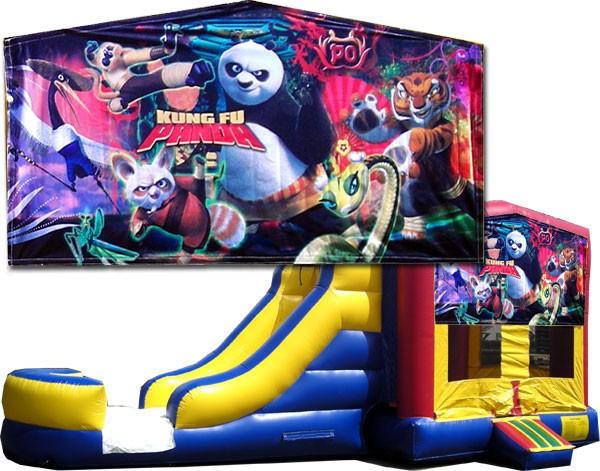 (C) Kung Fu Panda Bounce Slide combo (Wet or Dry)