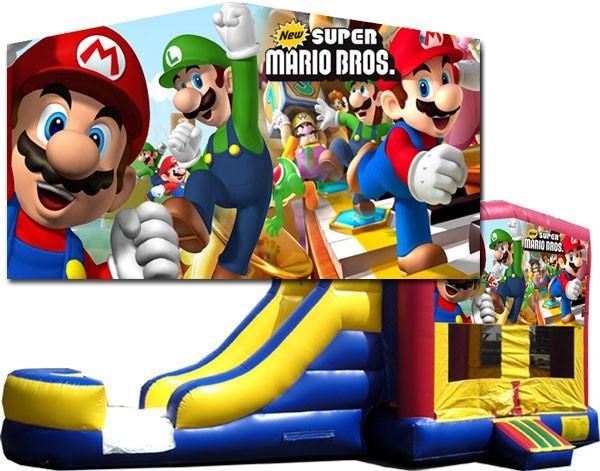 (C) Mario Bros Bounce Slide combo (Wet or Dry)