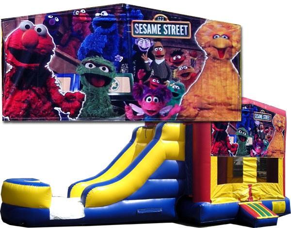 (C) Sesame Street 2 lane combo (Wet or Dry)