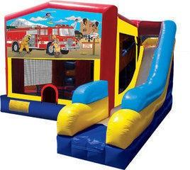 (C) Fireman Bounce Slide combo
