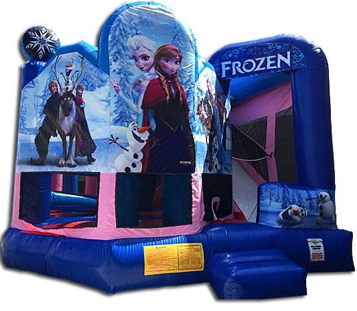 (C) Frozen Bounce Slide combo 5 n 1
