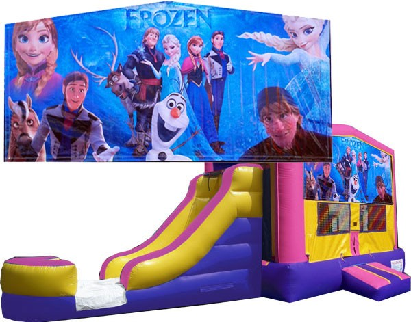 (C) Frozen Bounce Slide combo (Wet or Dry)