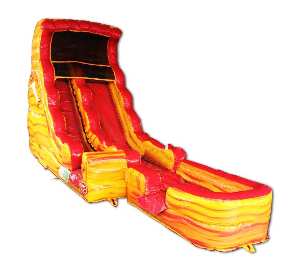 (B) 20ft Lava Dry Slide Rental