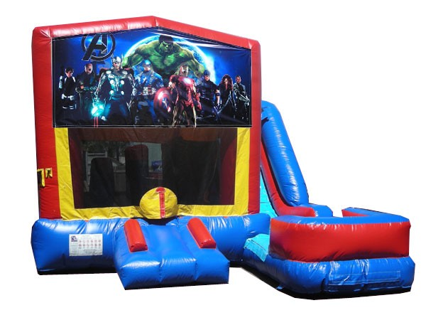 (C) Avengers 7n1 Bounce Slide combo (Wet or Dry)