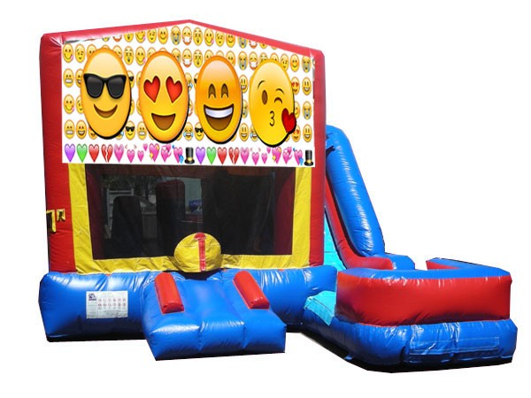 (C) Emoji 7N1 Bounce Slide combo (Wet or Dry)