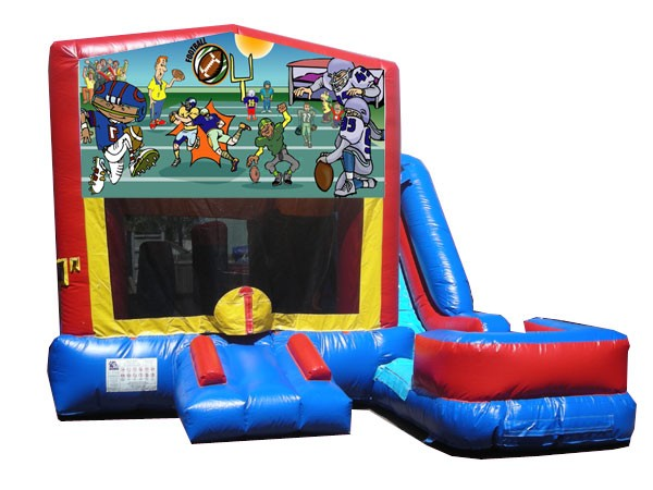 (C) Football 7n1 Bounce Slide combo (Wet or Dry)