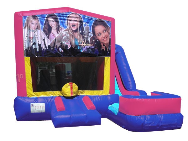 (C) Hannah Montana 7n1 Bounce Slide combo (Wet or Dry)
