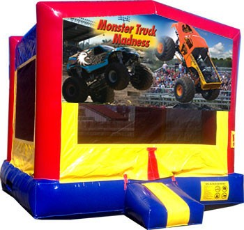 (C) Monster Truck Banner Moonwalk