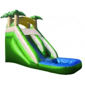 (A) 16ft Tropical Water Slide Rental