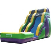(B) 24ft Wave Wild Rapids Dry Slide