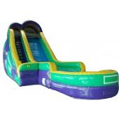 (B) 24ft Screamer Wet/Dry Slide