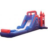 (B) Bounce N Slide combo (Wet or Dry)