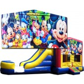 (C) Mickey & Friends Bounce Slide combo