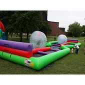 (D) 2 Hamster Balls with a 75ft Track