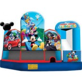 (C) Mickey Mouse Bounce Slide Combo