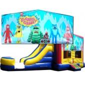 (C) Yo Gabba Gabba Bounce Slide combo (Wet or Dry)