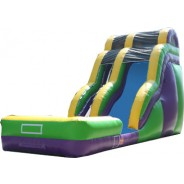 (B) 20ft Wave Wild Rapids Dry Slide