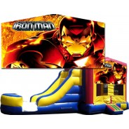 (C) Iron Man Bounce Slide combo (Wet or Dry)