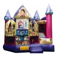 (C) Disney Princess Bounce Slide combo