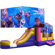 (C) Frozen Pink or Blue Bounce Slide combo (Wet or Dry)