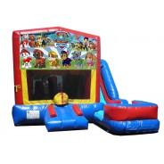 (C) Paw Patrol 7n1 Bounce Slide combo (Wet or Dry)