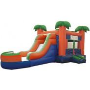(B) Paradise Bounce Slide combo (Wet or Dry)