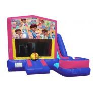 (C) Doc McStuffins 7n1 Bounce Slide combo (Wet or Dry)