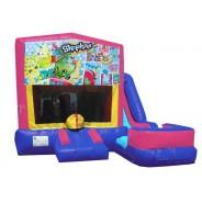 (C) Shopkins 7N1 Bounce Slide combo (Wet or Dry)