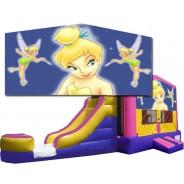 (C) Tinker Bell Bounce Slide combo (Wet or Dry)
