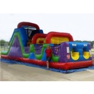 40ft Wacky Obstacle Course