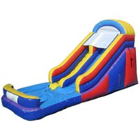 (A) 16ft Dry Slide Rental
