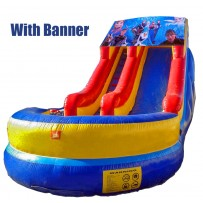 (B) 18ft Modular Water Slide
