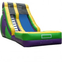 (B) 18ft Dry Slide Rental