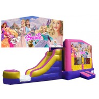 (C) Barbie Bounce Slide combo (Wet or Dry)