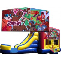 (C) Scooby-Doo Bounce Slide combo (Wet or Dry)